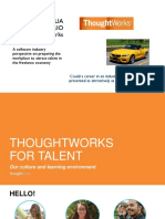 Thoughts Work for Talent