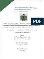 Arbitraje en Nicaragua