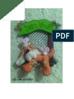 Cao Com Ratinhos BICHOS DE PANO