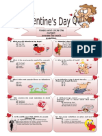 Quiz Valentine`s Day