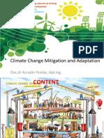 Climate Change Mitigation and Adaptation Ahusika