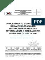 Tsg 311 Procedimiento Especifico de Part Mag Aws d1.5 - 2010 Rev A