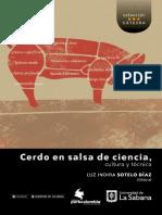 Cerdo en Salsa de Ciencia, Cultura y Técnica