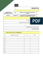 Registro de Epp y Capacitacion