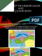 GEOLOGY OF KIRŞEHİR MASSIF.pptx