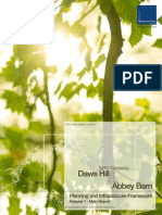 Daws Hill &  Abbey Barn Planning and Infrastructure Framework