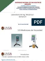 Sesión 9, Viscosimetros
