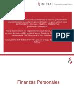 finanzas en el area personal