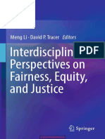 Interdisciplinary Perspectives on Fairness Equity and Justice