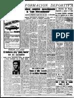 Peñaol Derrota Real Madrid 1966