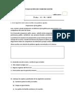 Evaluación de Comunicación Vicentina