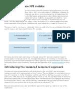 Basic Maintenance KPI Metrics