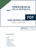 Guía Sistema grafico presidencia de la República de Colombia