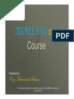 ASME VIII Div.1 Presentation