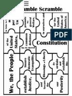 Preamble Puzzle Constitution