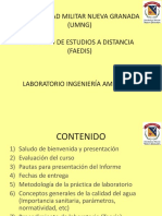 laboratorio ambiental