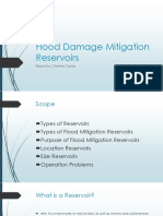 Flood Damage Mitigation Reservoirs