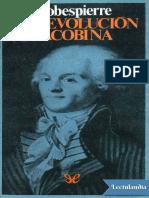 Virtud y Terror - Maximilien Robespierre