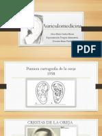 Auriculo medicina cartilla de puntos especiales