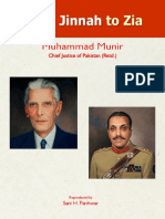 From Jinnah to Zia by Muhammad Munir Chief Justice Pakistan