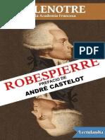 Robespierre - G Lenotre