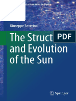 (Undergraduate Lecture Notes in Physics) Giuseppe Severino (Auth.) - the Structure and Evolution of the Sun-Springer International Publishing (2017)