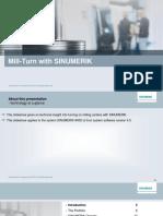 SINUMERIK Technology Slideshow Mill Turn En