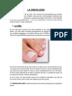La Onicología Informe