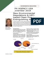 2018-November EPA Environmental Regulations Reprint IFP SECTOR REMARCADO