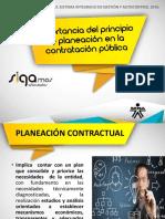 07. Sgc - Importancia Del Principio de Planeacion en La Contratacion Publica