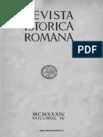 Revista istorică română, vol. 04, 1934