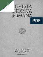 Revista istorică română, vol. 15, fasc. 3, 1945