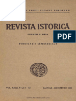 Revista istorică - dări de seamă, documente şi notiţe, 31, nr. 01-12, ianuarie - decembrie 1945