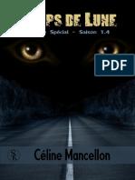 Temps de Lune - Tome 4 - Episode Spécial - Céline Mancellon