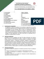 275844957 Silabo Algebra Lineal Ingenieria Civil