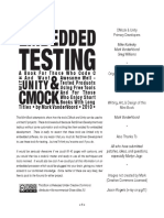 Embedded Testing With Unity and Cmock