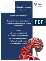 Escalas de Valoracion Del Paciente Traumatologico