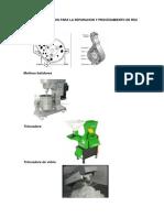 equipos usados para separacion de solidos