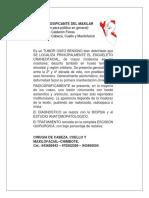 FIBROMA OSIFICANTE DEL MAXILAR