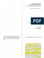 Bauman, Zygmunt, Tiempos líquidos