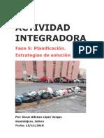 ACTIVIDAD INTEGRADORA  Fase 5