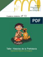 Cuaderno Historias de La Prehistoria