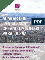 Acabar con la Violencia - Creando Modelos para la Paz
