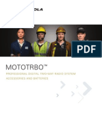 MOTOTRBO Accessory Brochure Updated 9 07