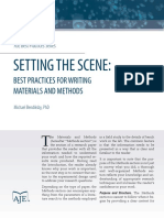 Best Practices for Writing_methods