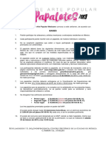 Convocatoria Concurso Papalotes 2019 Map