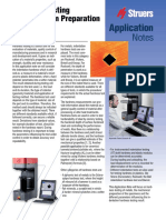Application Note Hardness Testing