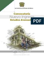 UAEMex convocatoria Estudios Avanzados 2019-2020