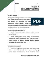 BAB IV Geologi Struktur