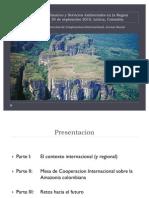 La Amazonía y el cambio climático